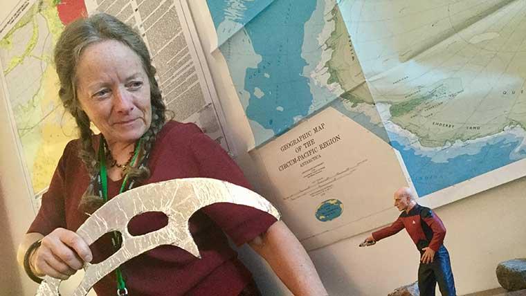 Dr. Catherine Hill, Professor of Geoscience