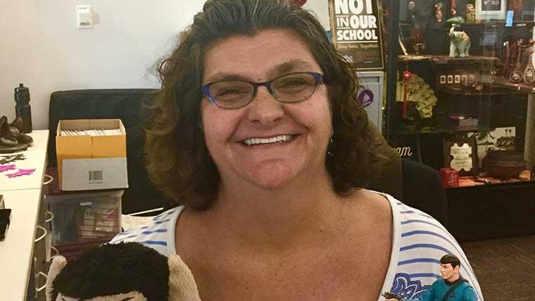 Jennifer Bruce, Senior Secretary