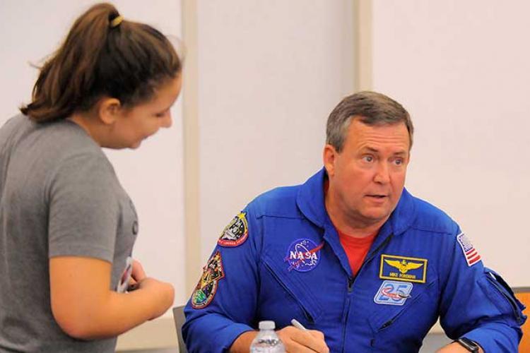 Astronaut, Captain Mike Foreman