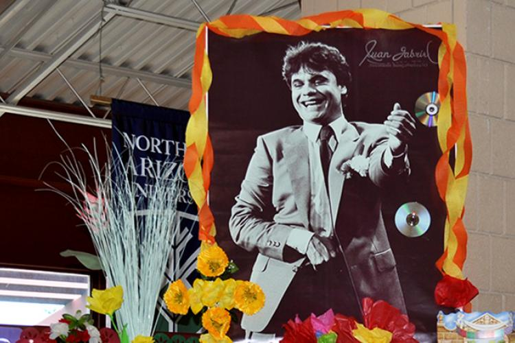 Day of the Dead altar for Juan Gabriel