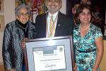 Martinez-Inzunza received the Ohlti award in recognition of his service to the Mexican community.